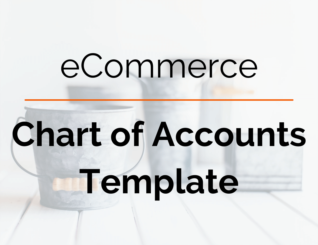 eCommerce Chart of Accounts Template Image