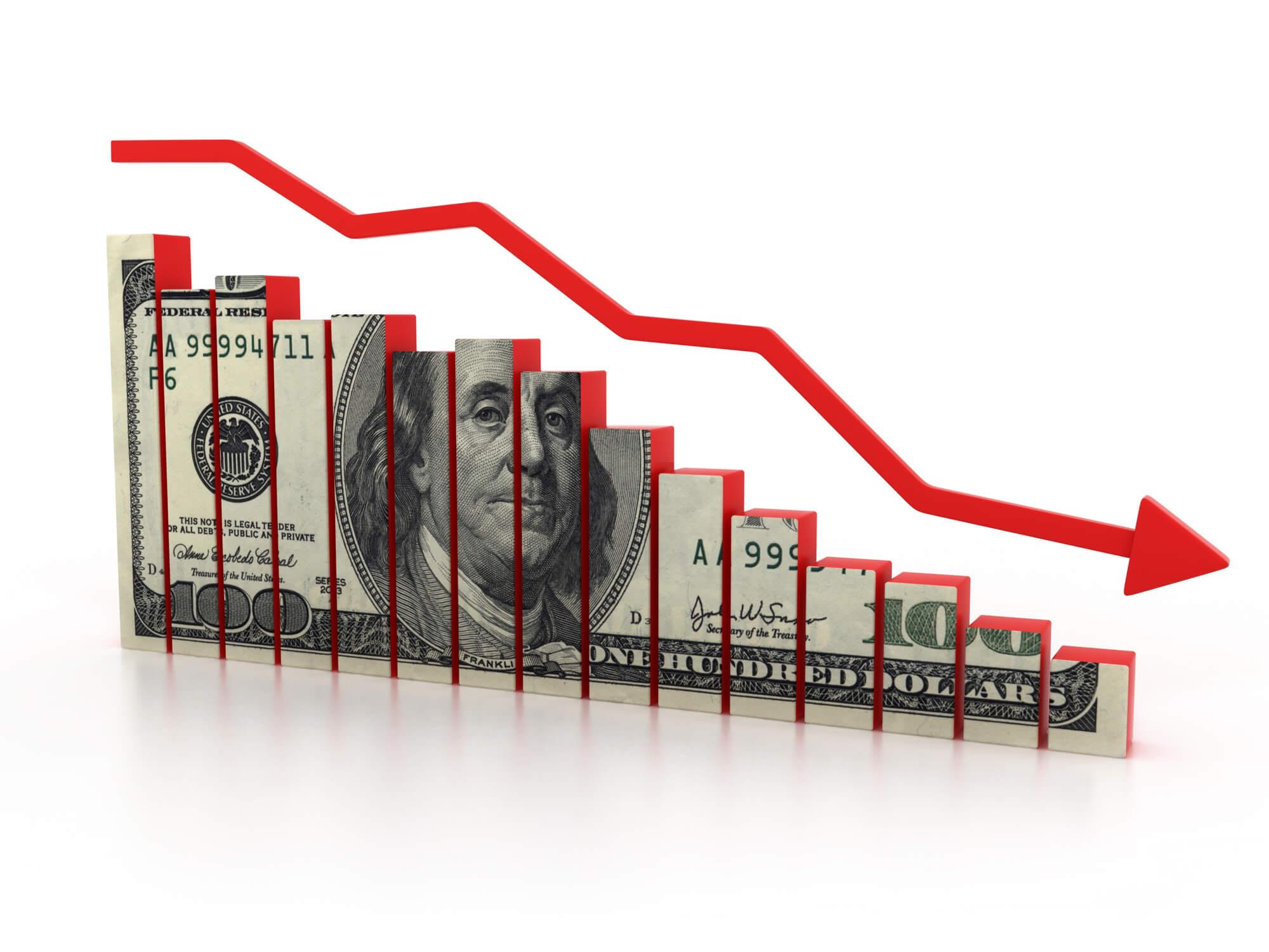 Inflation (dollar losing value)
