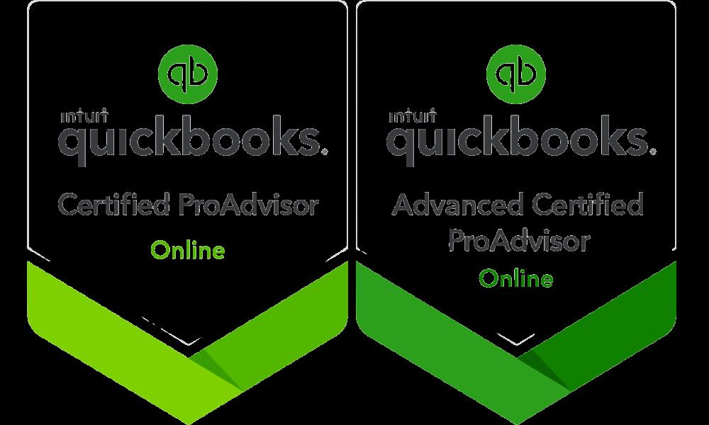 QuickBooks Certified Proadvisor logos